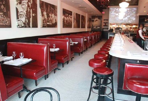 Best 25 restaurant booth ideas on pinterest banquette - Black owned interior design companies ...