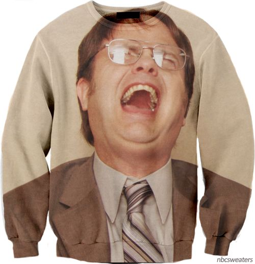 YES.: Sweaters, Fashion, Style, The Office, Funny, Dwight Schrute, Things