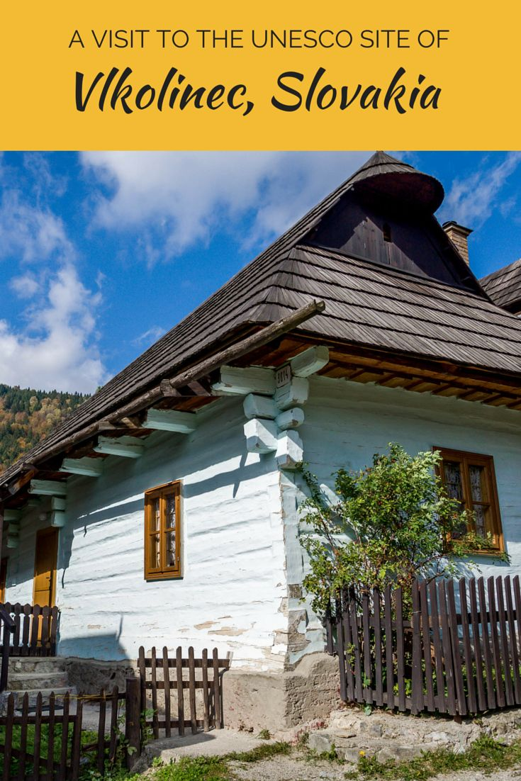 A visit to the UNESCO World Heritage site of Vlkolinec, Slovakia is a step back in time. The villagers here live like it's still the 19th century, making it a fascinating place to visit.