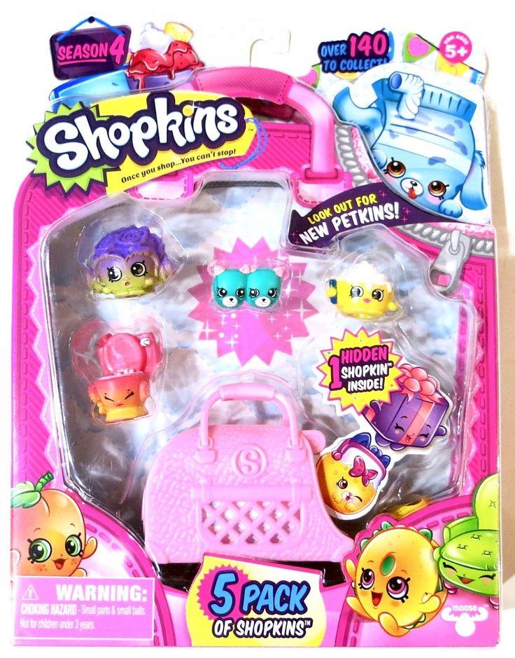 Shopkins Season 4 5 pack