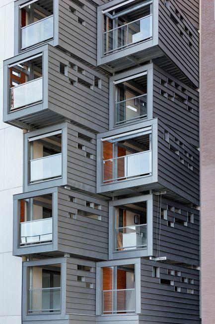 Le Carré en Seine - Pietri Architectes - Architecture résidentielle - Double épaisseur de loggias