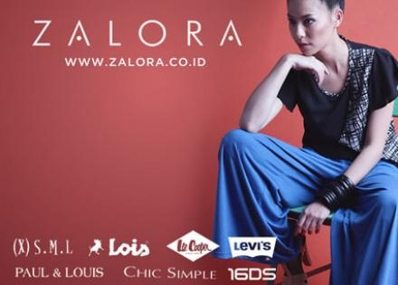 [70%Off] Get Gift Voucher's from Zalora Indonesia Fashion Online With Various Brands ( Melissa, (X)SML, Hush Puppies, Adidas, and More). Only For Rp 60.000,- ( Value Rp 200.000,-)