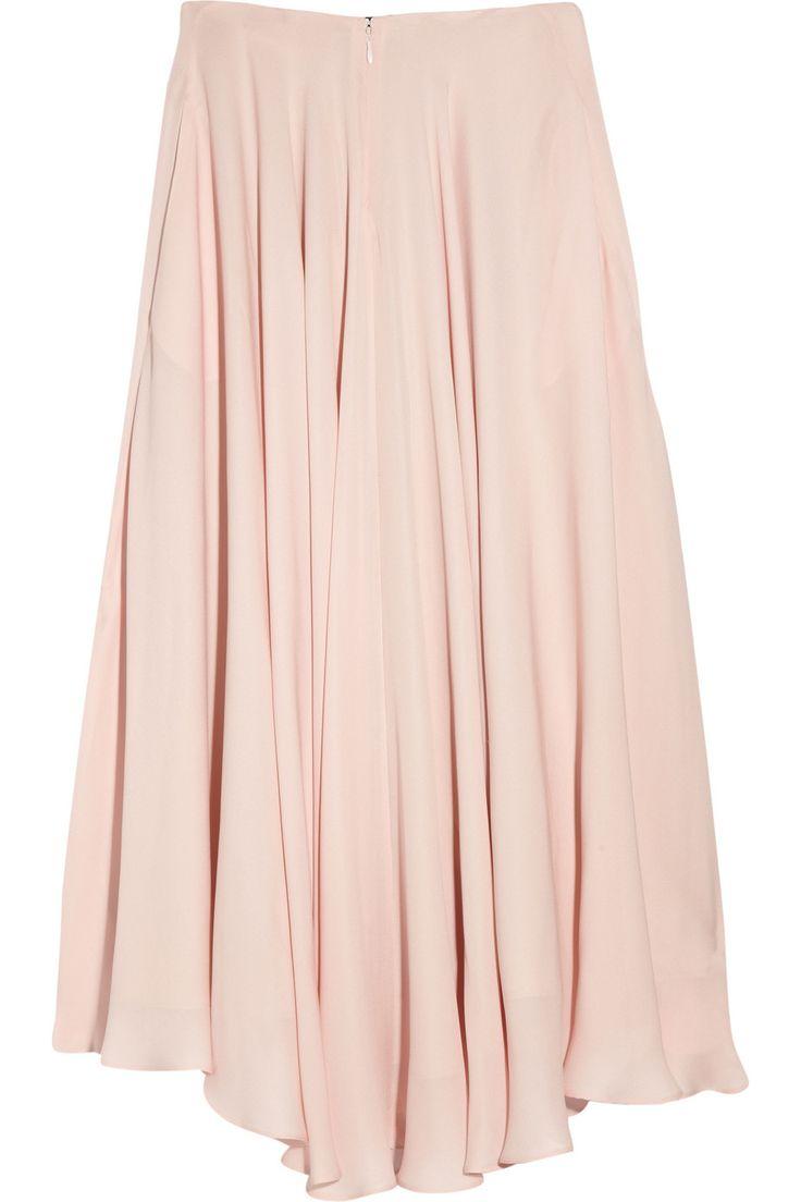 The Row  Ellena pleated silk-chiffon skirt  Was $1,250   Now $875
