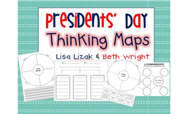 Made In The Shade In 2nd Grade: Presidents' Day {Thinking Maps!}