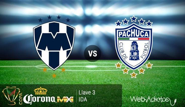 Monterrey vs Pachuca, Llave 3 de Copa MX C2016 ¡En vivo por internet! - https://webadictos.com/2016/02/24/monterrey-vs-pachuca-copa-mx-c2016/?utm_source=PN&utm_medium=Pinterest&utm_campaign=PN%2Bposts