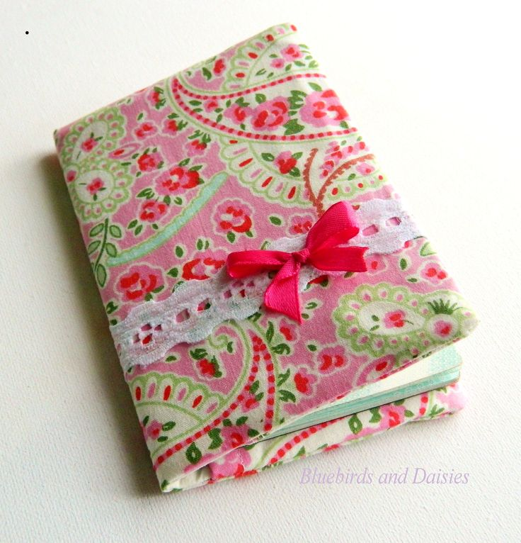 Pretty passport cover with some Cath Kidston fabric