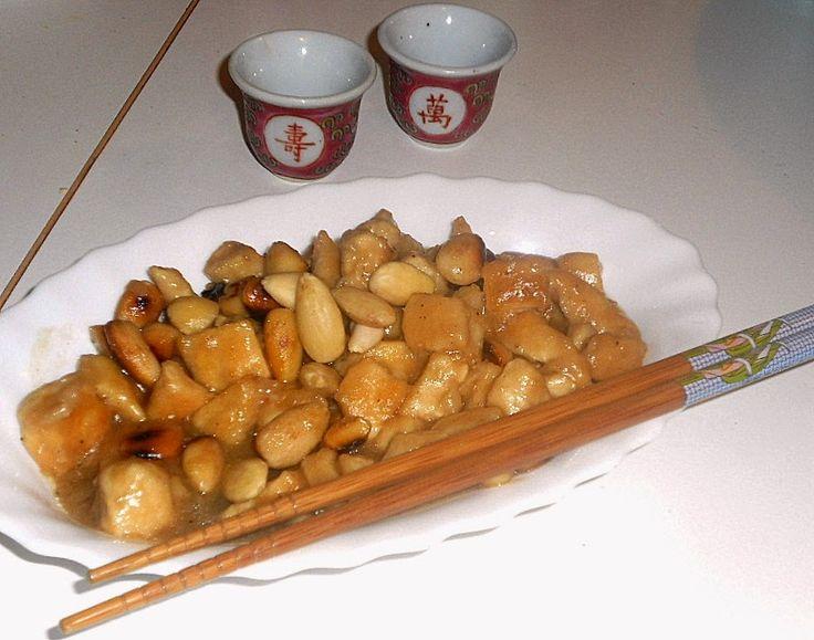 un mondo di ricette: la cucina cinese - pollo alle mandorle