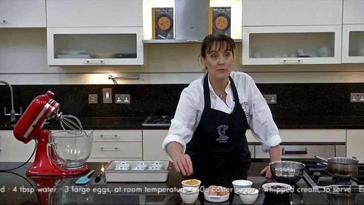 Dublin Cookery School - In this video, Lynda Booth shares her recipe for hot chocolate pots with you. The recipe is taken from her self-published cookbook 'From Lynda's Table' which can be bought online: http://www.dublincookeryschool.ie/lyndas-cookbook/