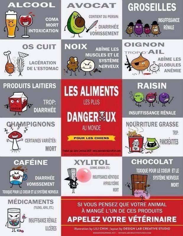 aliment danger
