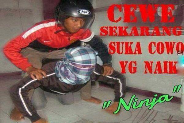 Cewek Sukarang Suka Naik Ninja - GagBuzz