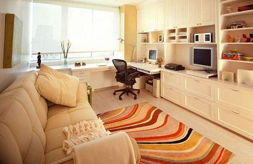 домашний офис в гостинной - Поиск в Google