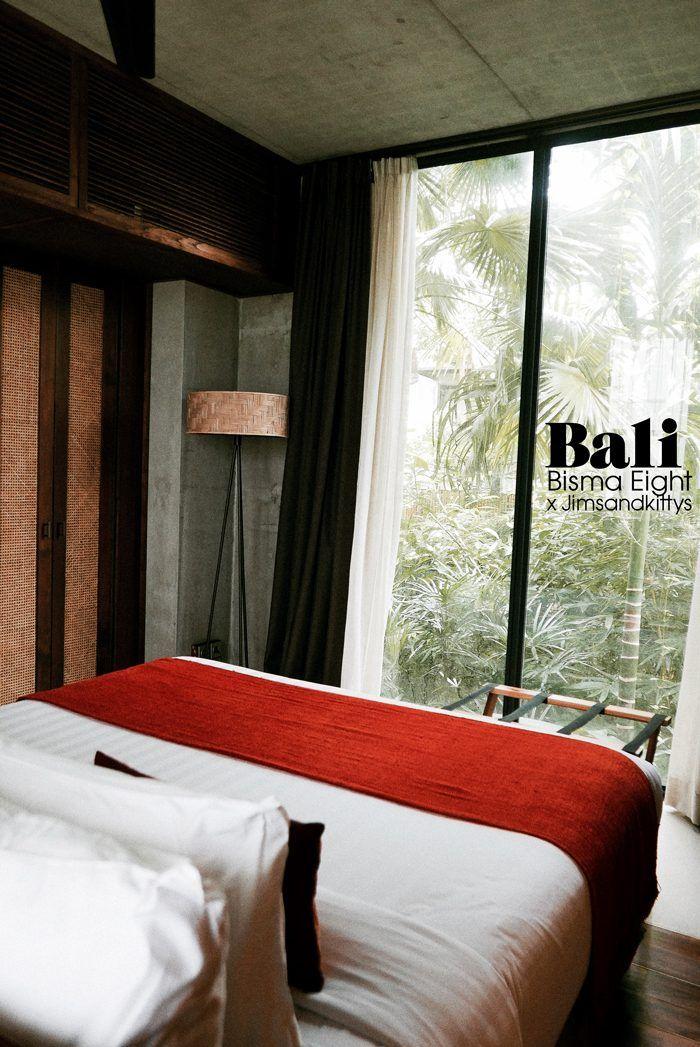 Bisma Eight | Ubud, Bali. - JimsandkittysJimsandkittys  #ubud #bali #bismaeight #designhotel #boutiquehotels #coolhotels #coolplaces #beautifulhotels # balihotels #besthotelsbali #ubudhotels #art #design #bismaeighthotel #hotelbed #hotelroom #tropical #greens