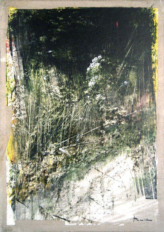 Antonio Pedretti, Spiagge Bianche, 2015. Olio su cartone, cm. 35x50