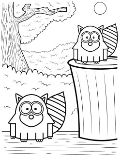 75 best Raccoon images on Pinterest Raccoons Book activities