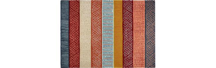 Ibali Tapis tissé plat 120x180 multicolor (www.habitat.fr)