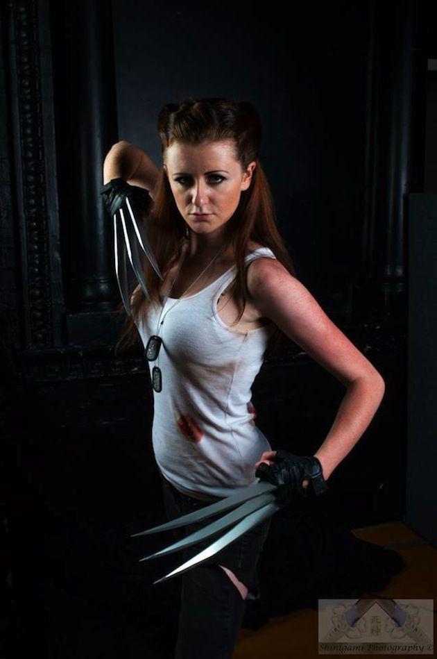 Female Wolverine! She is Kick Ass!  sc 1 st  Pinterest & 261 best cosplays n stuff images on Pinterest   Costume ideas ...