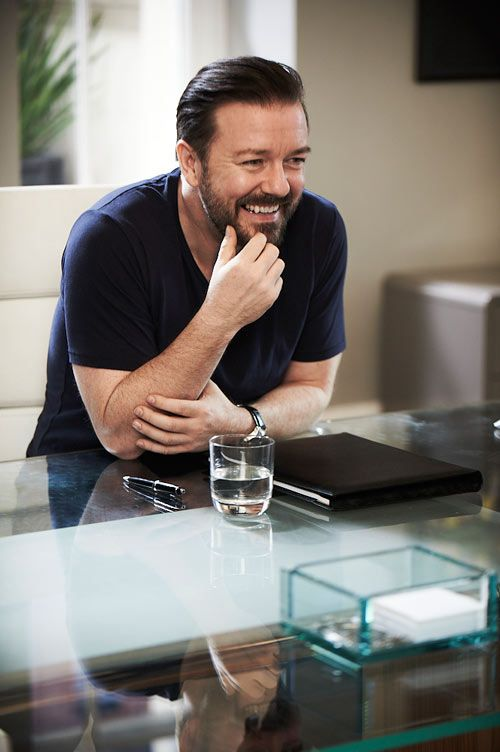 Ricky Gervais...Obviously.