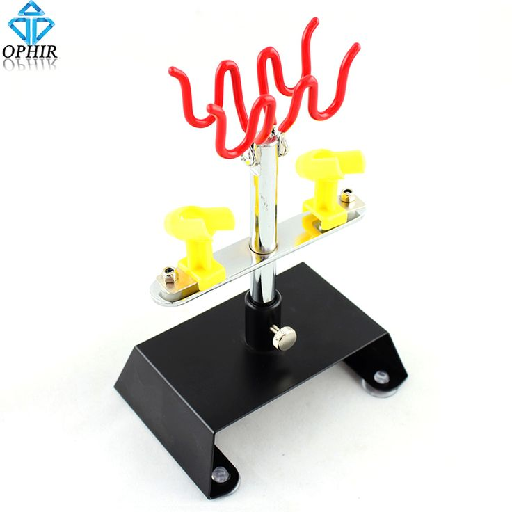OPHIR 4 Airbrush Gun Holder CLAMP-ON Table Hold Airbrushes Paint Hobby Art Air Compressor Tools_AC013