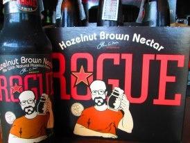 Hazelnut Brown Nectar by Rogue. #Beer #Drink #Restaurant #Shuffle #Bangkok
