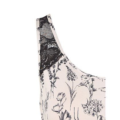 Floral Pyjama Vest and Bottoms | Women | George