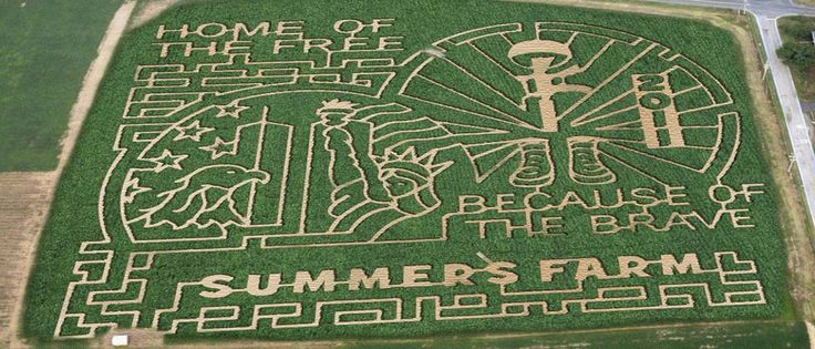 Get Lost! In a Cornfield Maze! - Summers Farm Adventure: Agri-Tourism in Frederick, MD