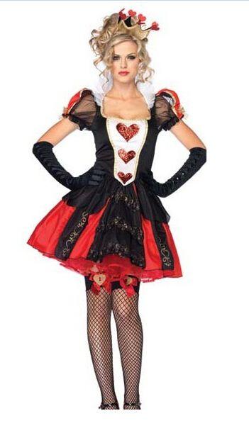 Goedkope Mode nieuwe aankomst ZT84670 nieuwe alice in wonderland koningin van hart dames vrouwen kostuum, koop Kwaliteit   rechtstreeks van Leveranciers van China: Mode nieuwe aankomst ZT84670 nieuwe alice in wonderland koningin van hart dames vrouwen kostuum