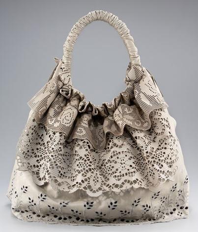 Valentino Laceland Handbag zum Kaufen viel zu teuer, vielleicht eine Idee zum Selbermachen?