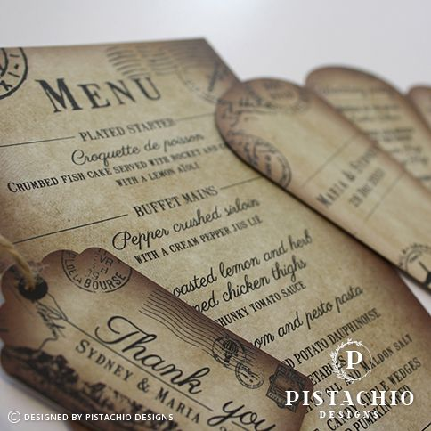 Rustic stationery by www.pistachiodesigns.co.za