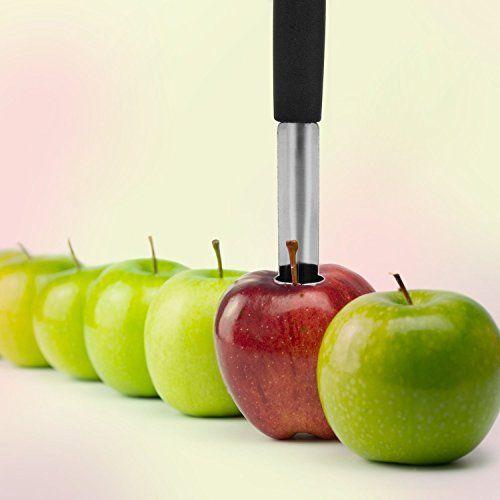 UVISTAR Apfelentkerner Edelstahl 2er Set Apfelausstecher K�chenhelfer Ausslicer Entkerner f�r Obst und Gem�se