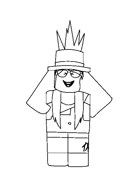 Smartness Design Free Roblox Coloring Pages Image New