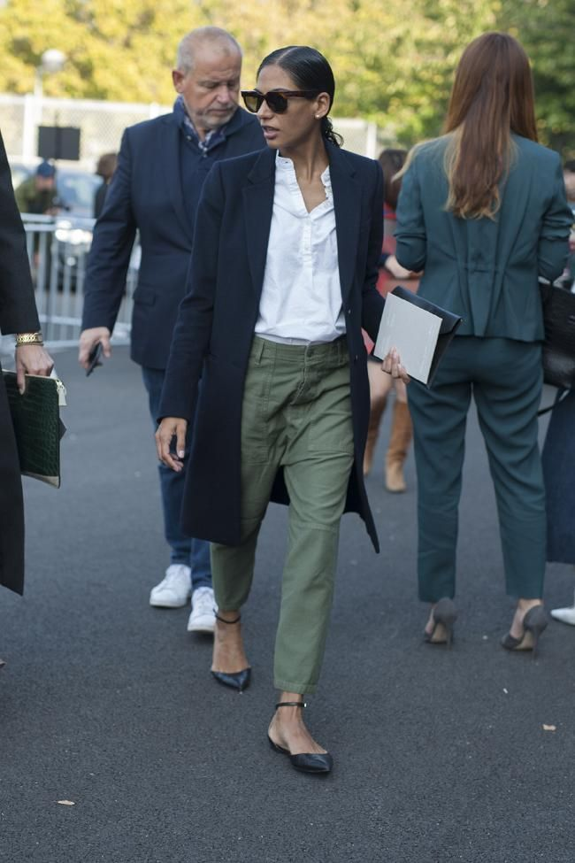 Street style from Paris fashion week spring/summer…
