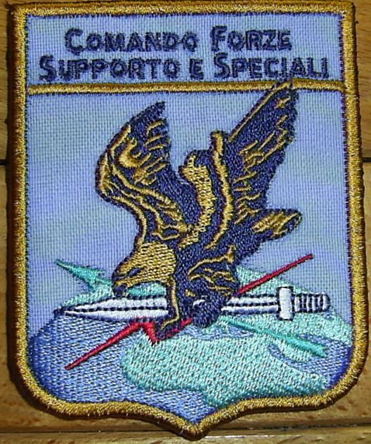 PATCH AERONAUTICA MILITARE - COMANDO FORZE SUPPORTO E SPECIALI