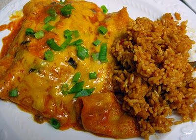 Beef enchiladas (Pioneer Woman's recipe)