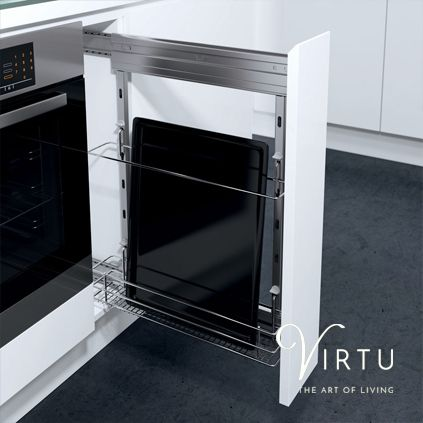 Cooking Tray Storage Unit. Available in 150mm. #TheArtofLiving