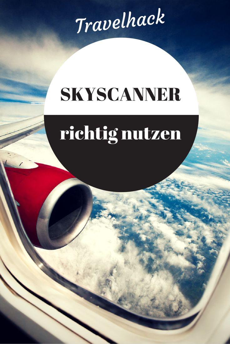 In nur 2 Minuten erkläre ich euch wie ihr 1. den günstigsten FLug findet und 2. euch von der Suchmaschine inspirieren lassen könnt ---> http://www.reiseuhu.de/?p=252 #skyscanner #fliegen #travelhack #reise #urlaub #travel #ferien #tipps