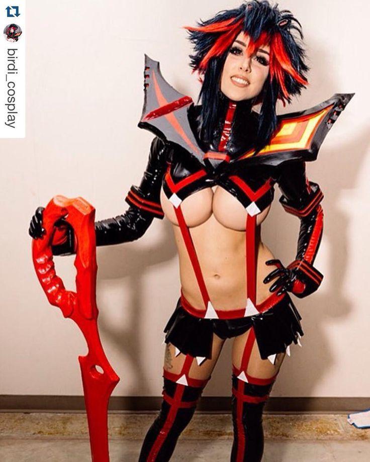 Ryuko Matoi Birdi Cosplay  Kill La Kill  C0Spl4Y -4819