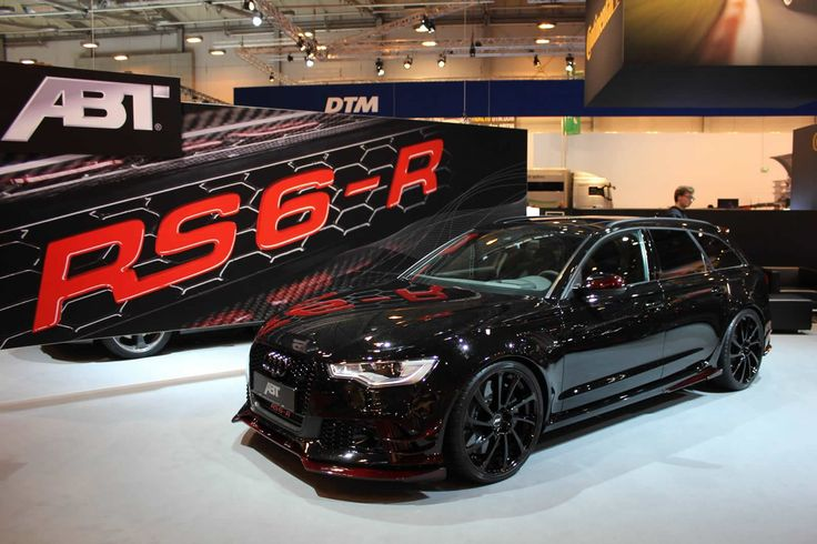 The ABT RS6-R based on the pre-facelift Audi RS6 Avant is being exhibited at the 2014 Essen Motor Show. The..