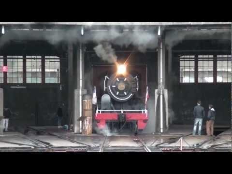 Tren de la Araucanía 26/02/2012 - Tercera Parte: Regreso de Victoria a Temuco