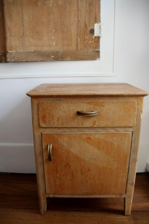 Beau Petite Table De Chevet #13: Petite Table De Chevet Vintage à Rénover !