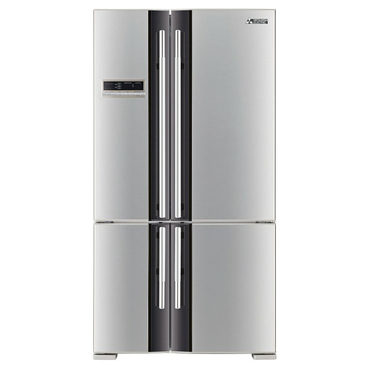 Mitsubishi 710L French Door Fridge - Stainless Steel