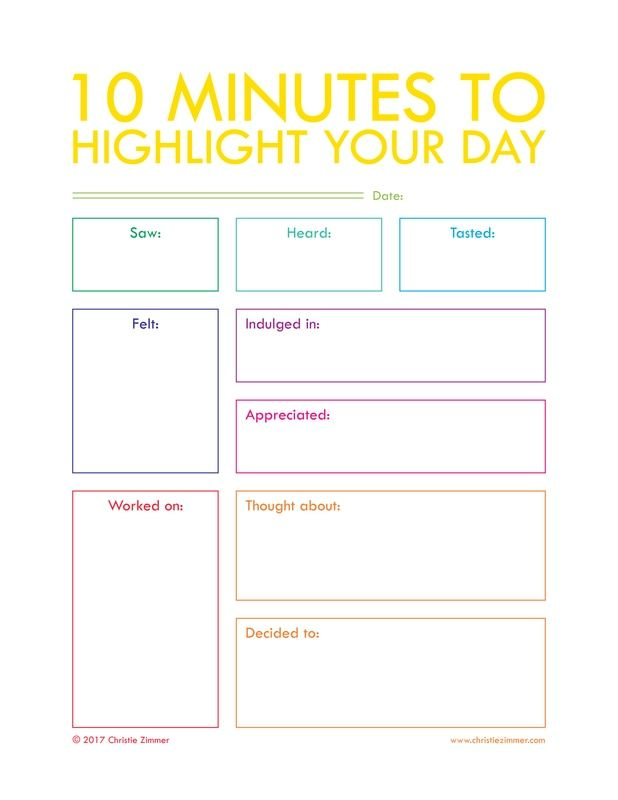 Journal your way to a life you love. Daily journal prompts and printable guided journals by Christie Zimmer