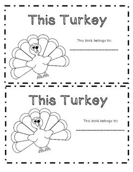 Turkey-Themed Literacy FREEBIES! Great for counting and colors. This turkey has one green feather, this turkey has 2 yellow feathers....