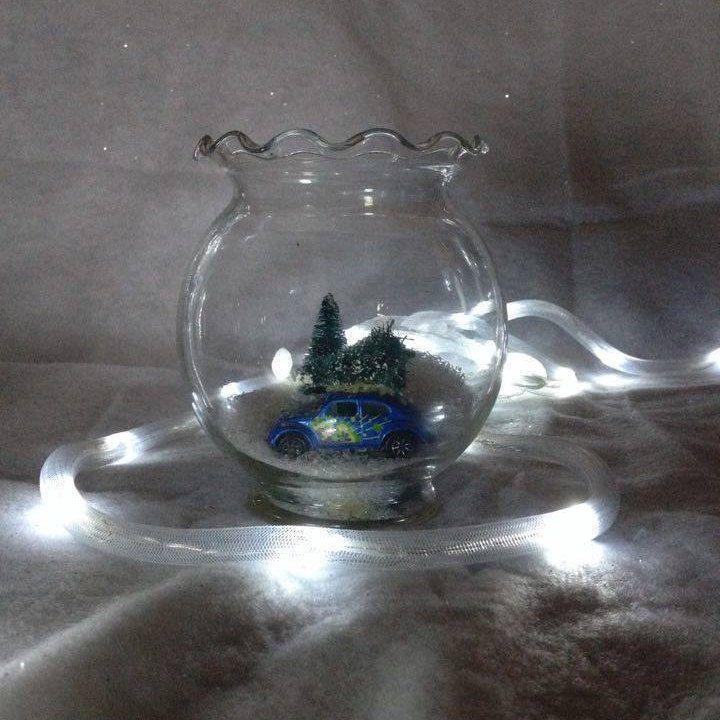 Miniature Scene/Globe by Toodalous on Etsy