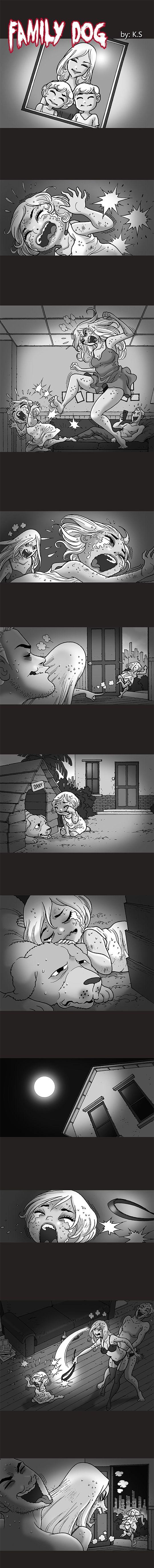 Silent Horror chap 246: Family dog - Gia đình nhà chó