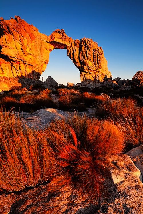 The Arch of The Cederberg Mountains, Cape Town, South Africa.