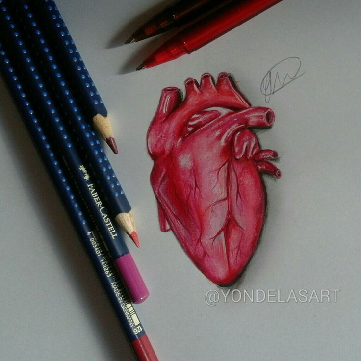 Heart drawing! 😊Oh I'm happy