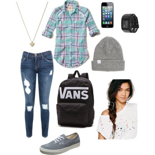 First day of high school fashion for me – School outfits highschool junior winter