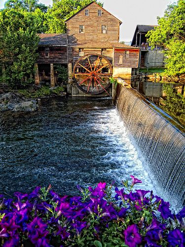 Old Mill: Pigeon Forge, TN ..Should be getting real fall looking now..Ann 10/08/2013