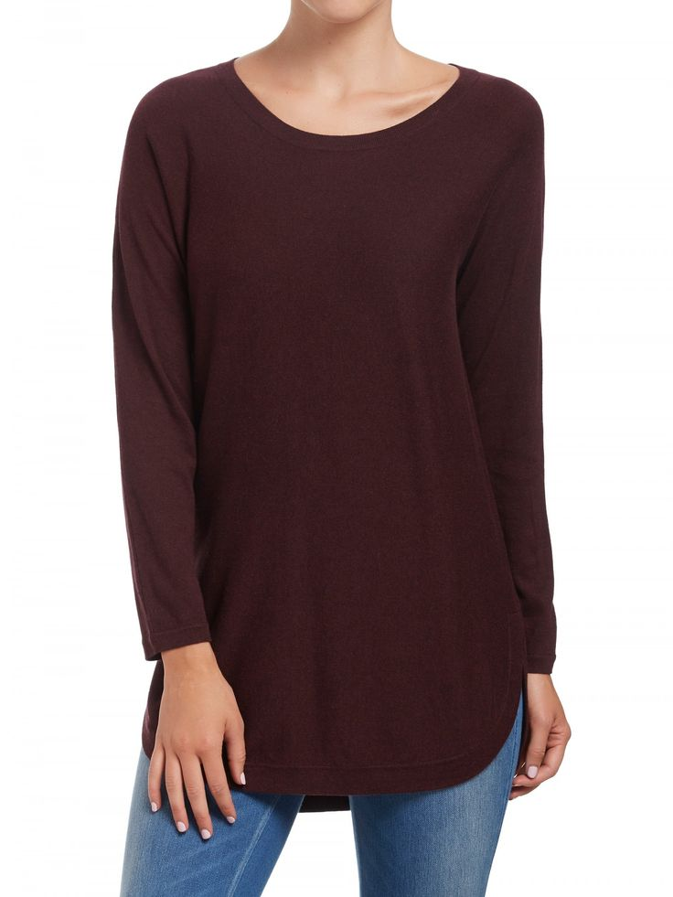 Curved Hem Longline Jumper from @sussans.  #sussans #fashion #style