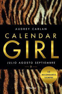 Calendar Girl 3 de Audrey Carlan                                                                                                                                                                                 Más